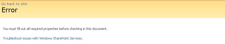 Turn on detailed error messages in SharePoint 2007 /2010 (3/4)