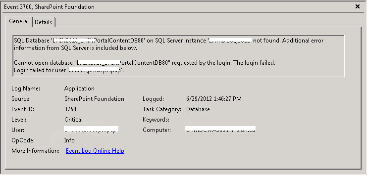 The workbook cannot be opened -  Excel Services error on SharePoint 2010 (3/6)