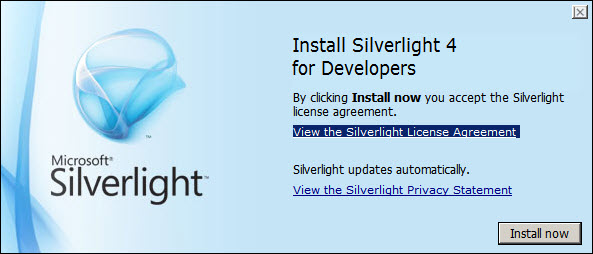 System.NullReferenceException in Silverlight application designer in Visual Studio 2010 (4/6)