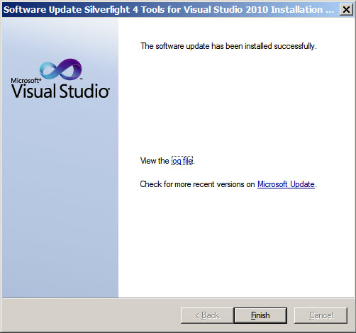 System.NullReferenceException in Silverlight application designer in Visual Studio 2010 (6/6)