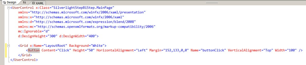 Getting started with Silverlight - Visual Studio 2010 (6/6)