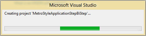 Getting started with Windows 8 Metro Style Application using C#  - Visual Studio 2012 (5/6)